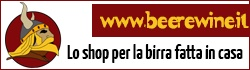 Beer & Wine, materiale per homebrewing