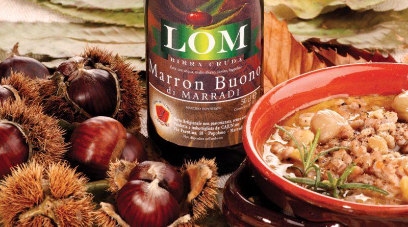 Zuppa di Farro con Marroni abbinata alla birra artigianale Lom del Cajun