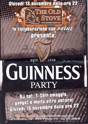 Guinnes Party