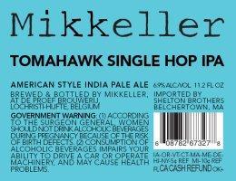 Single Hop Tomahawk IPA