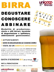A Pisa corso birra: degustare, conoscere, abbinare