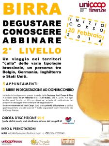 """A Pisa primo corso di degustazione di II livello  """"targato"""" InFermento/Coop/PuroMalto"""