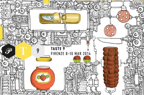 Pitti Taste 2014 Logo