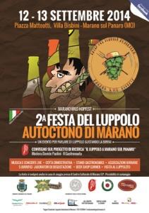 Festa del Luppolo autoctono a Marano sul Panaro