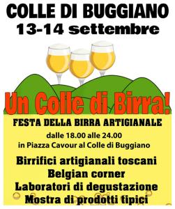 Un Colle di Birra! A Buggiano 13-14 settembre 2014