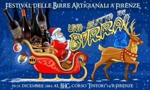 Una Slitta di... Birra! Festival birre di Natale 19-21 dicembre 2014 a #Firenze