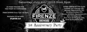 BrewDog Firenze compie un anno!
