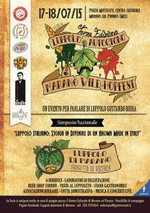 Marano Wild-Hopfest, festa del luppolo italiano 17-18 luglio 2015