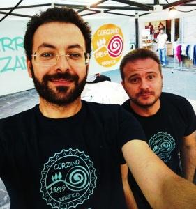 Birrificio Corzano 1985: Walter Lenzi e Marco Poggiali