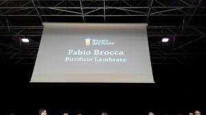 Fabio Brocca Birraio dell'Anno