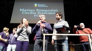 Matteo Pomposini e Cecilia Scisciani del birrificio MC-77