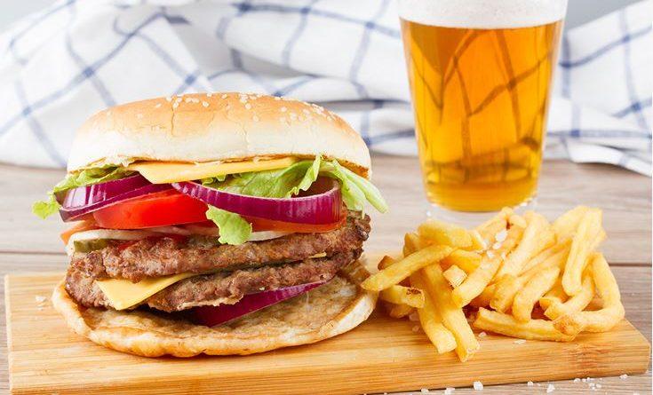 hamburger-birra
