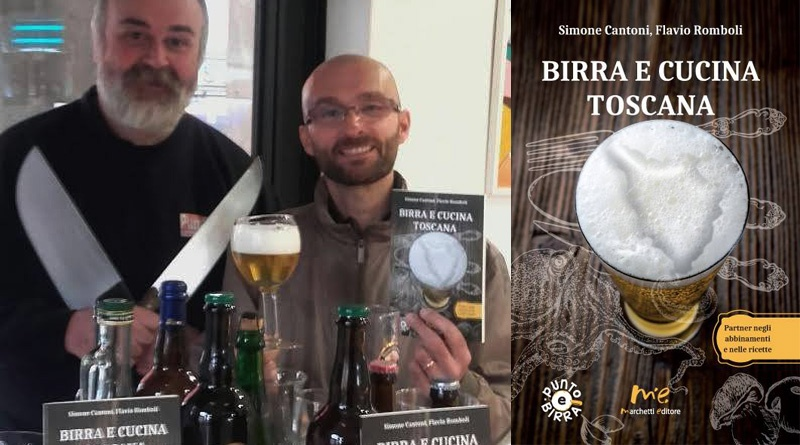 """Birra e cucina toscana"" di Simone Cantoni e Flavio Romboli"
