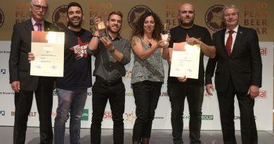 15 birre per 12 birrifici italiani sul podio dell'European Beer Star