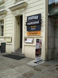 Pivovar Národní, Praga