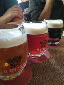 Pivovar U Tří Růží (Three roses), Praga