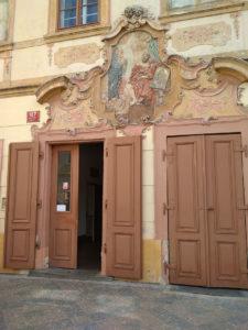 U Černého vola, Praga