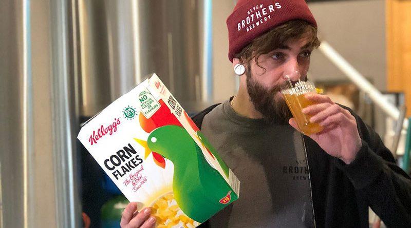 Throw Away IPA, la birra fatta con gli scarti dei cornflakes Kellogg's