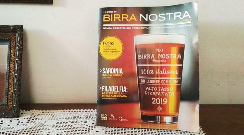 Birra Nostra la nuova rivista di birra artigianale