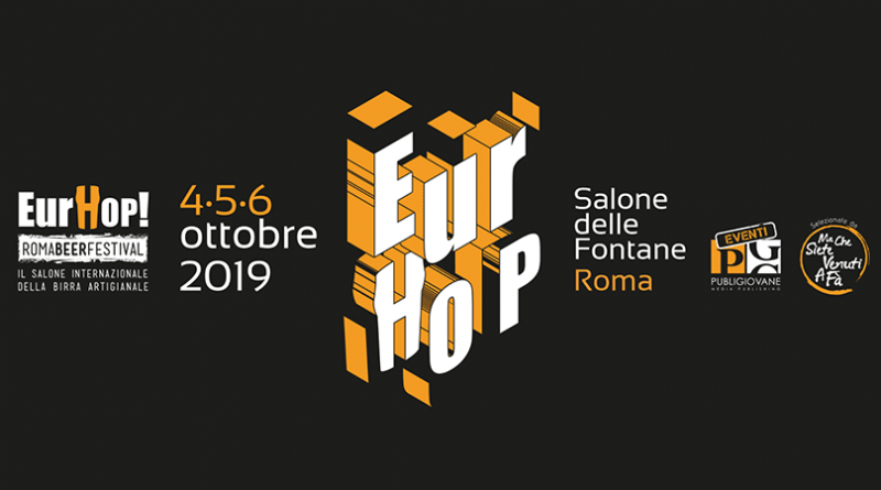 Tutti i numeri di EurHop Roma Beer Festival, salone internazionale della birra artigianale 2019