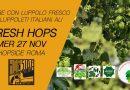 Birre artigianali con luppolo fresco dai produttori italiani di Luppolo