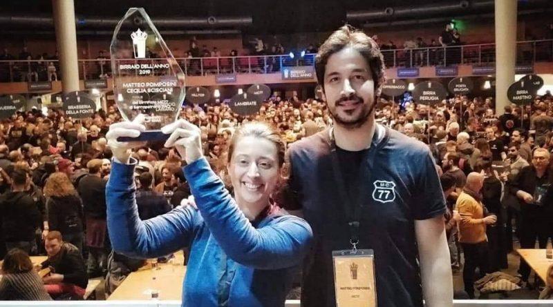 Birraio dell'Anno 2019: vincono Cecilia Scisciani e Matteo Pomposini di MC77, tra gli emergenti Vincenzo Follino di Bonavena