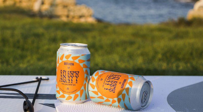 Birre artigianali per l'estate: Asatt, la nuova neipa pugliese in lattina