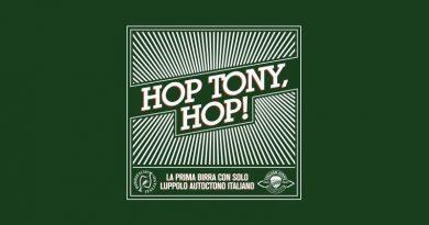 HOP TONY, HOP! la prima birra artigianale italiana prodotta con luppolo autoctono