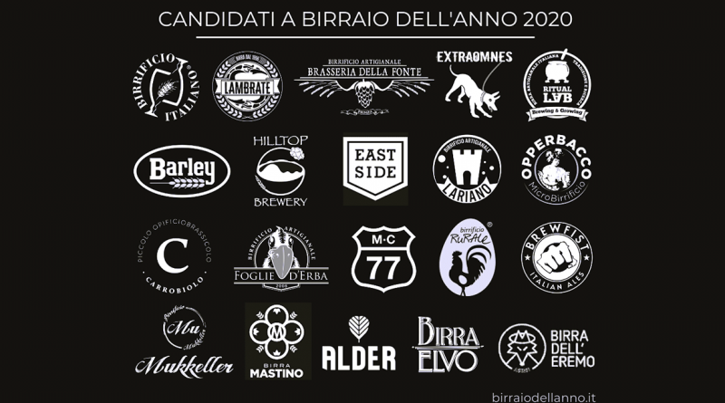 Birraio dell'Anno 2020: i candidati al premio