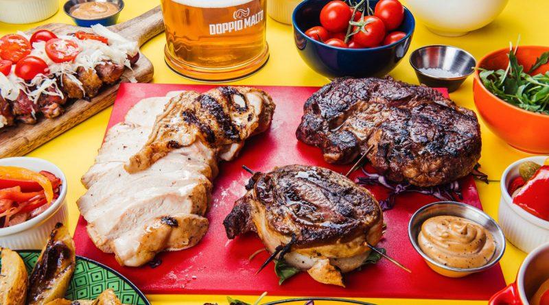 Doppio Malto birra e carne