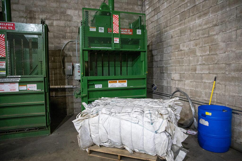 Riciclaggio di materiali del birrificio