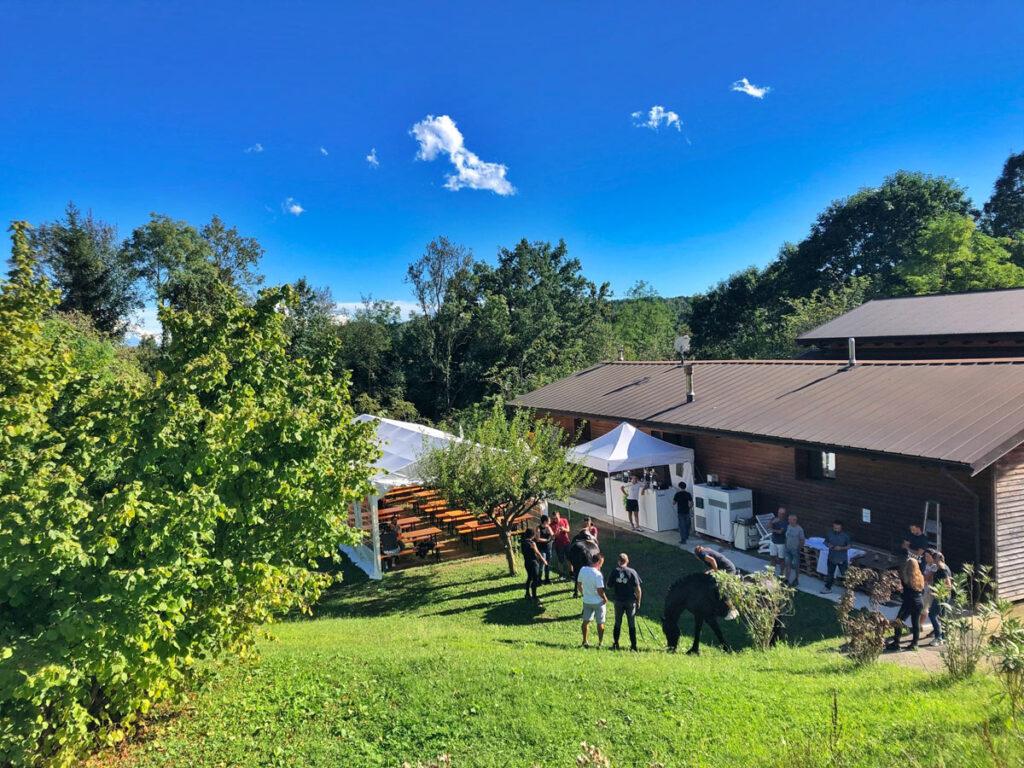 Beer garden Elvo