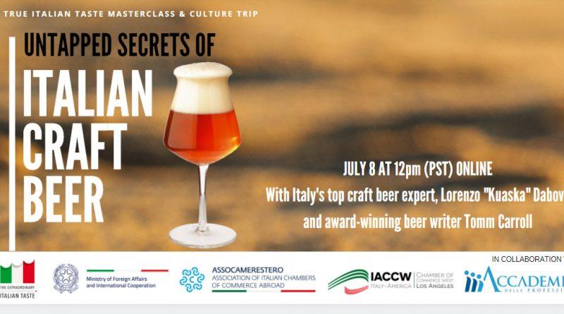Italian Craft Beer Masterclass