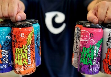 La Bestemmia in 4 declinazioni le lattine di birra artigianale dei Chianti Brew Fighters