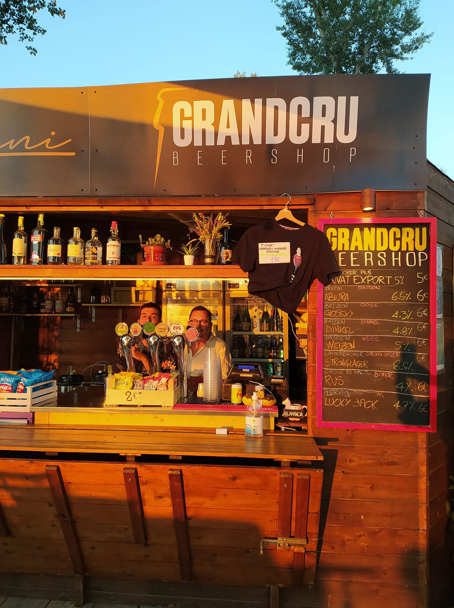 Grand Cru Beershop summer edition @ Parco dell'Albereta Firenze