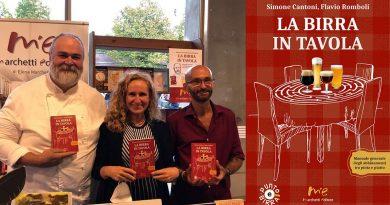 La birra in tavola di Simone Cantoni e Flavio Romboli